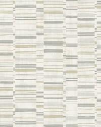 Fresnaye Grey Linen Stripe Wallpaper by