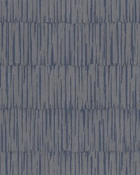 Zandari Navy Distressed Texture Wallpaper by