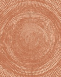 Lalit Burnt Sienna Medallion Wallpaper by