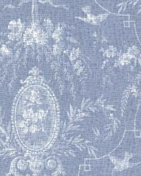 Flourish Blue Cameo Fleur by