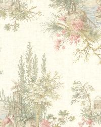 Pictorial Olive Romance Toile by