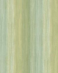 Ombrello Green Stripe Wallpaper by  Brewster Wallcovering