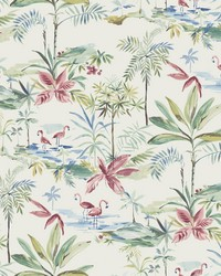 Lagoon Teal Watercolor Wallpaper by  Brewster Wallcovering