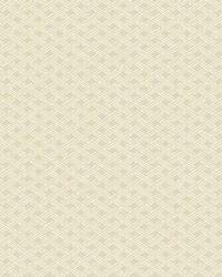 Sweetgrass Beige Lattice Wallpaper by  Brewster Wallcovering