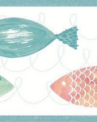 Key West Orange Fish Spool by