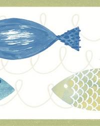 Key West Green Fish Spool by