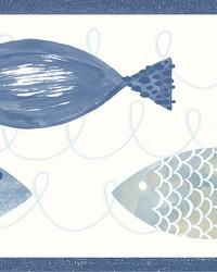 Key West Blue Fish Spool by