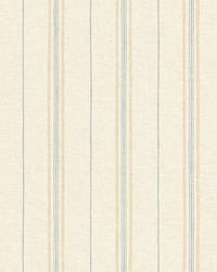 Franz Wheat Grain Texture Stripes Wallpaper by  Brewster Wallcovering