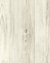 Mapleton Taupe Faux Wood Wallpaper by