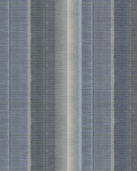 Flat Iron Blue Stripe Wallpaper by