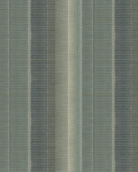 Flat Iron Teal Stripe Wallpaper by