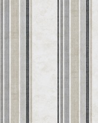 Hamilton Grey Stripe Wallpaper by