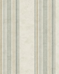 Hamilton Green Stripe Wallpaper by