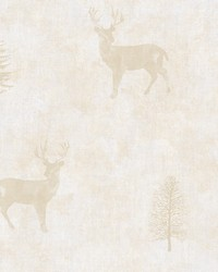 Sugar Hill Gold Lodge Wallpaper by