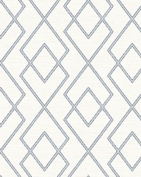 Blaze Eggshell Trellis Wallpaper by