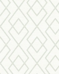 Blaze Off-White Trellis Wallpaper by