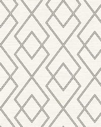 Blaze Cream Trellis Wallpaper by