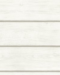 Susanna Off-White Wood Planks Wallpaper by