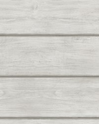 Susanna Light Grey Wood Planks Wallpaper by
