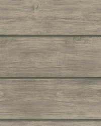 Susanna Grey Wood Planks Wallpaper by