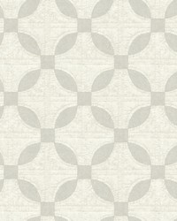 Justice Light Grey Quilt Wallpaper by