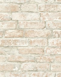 Arlington Multicolor Brick Wallpaper by