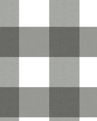 Selah Black Gingham Wallpaper by
