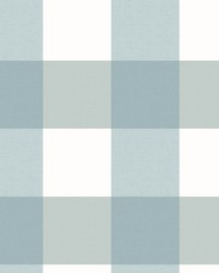 Selah Teal Gingham Wallpaper by