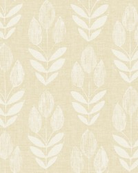 Garland Wheat Block Tulip Wallpaper by