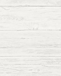 Jared Off-White Shiplap Wallpaper by