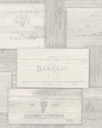 Randolph Grey Wine Boxes Wallpaper by
