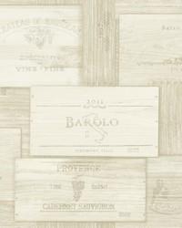 Randolph Cream Wine Boxes Wallpaper by