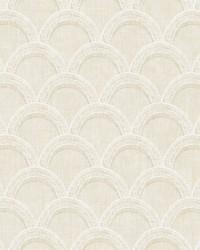 Bixby Beige Geometric Wallpaper by