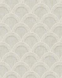 Bixby Grey Geometric Wallpaper by