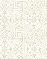Sonoma Grey Spanish Tile Wallpaper by
