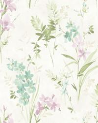 Henrietta Multicolor Floral Wallpaper by