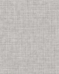 Mendocino Grey Linen Wallpaper by