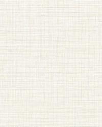 Mendocino Eggshell Linen Wallpaper by