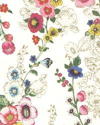 Eivissa Cream Vivid Floral by