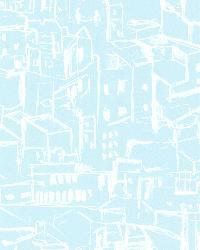 Kasabian Aqua Hillside Village Sketch by