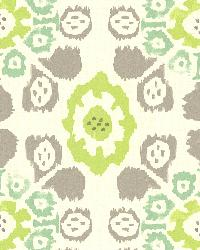 Valencia Green Ikat Floral by