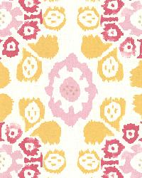 Valencia Yellow Ikat Floral by