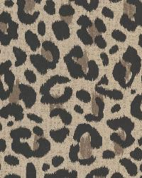 Talamanca Brown Abstract Leopard by