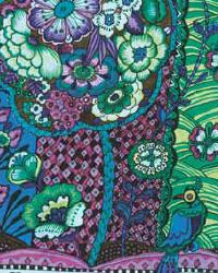 Paraiso Purple Kaleidoscopic Floral by