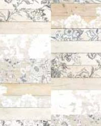 Madera Mosaico White Painted Wood Panels by