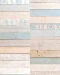 Madero Blue Beach Wood Panels by