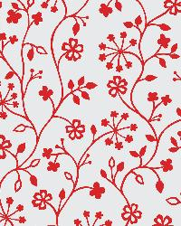 Winters Garden Red Window Film by