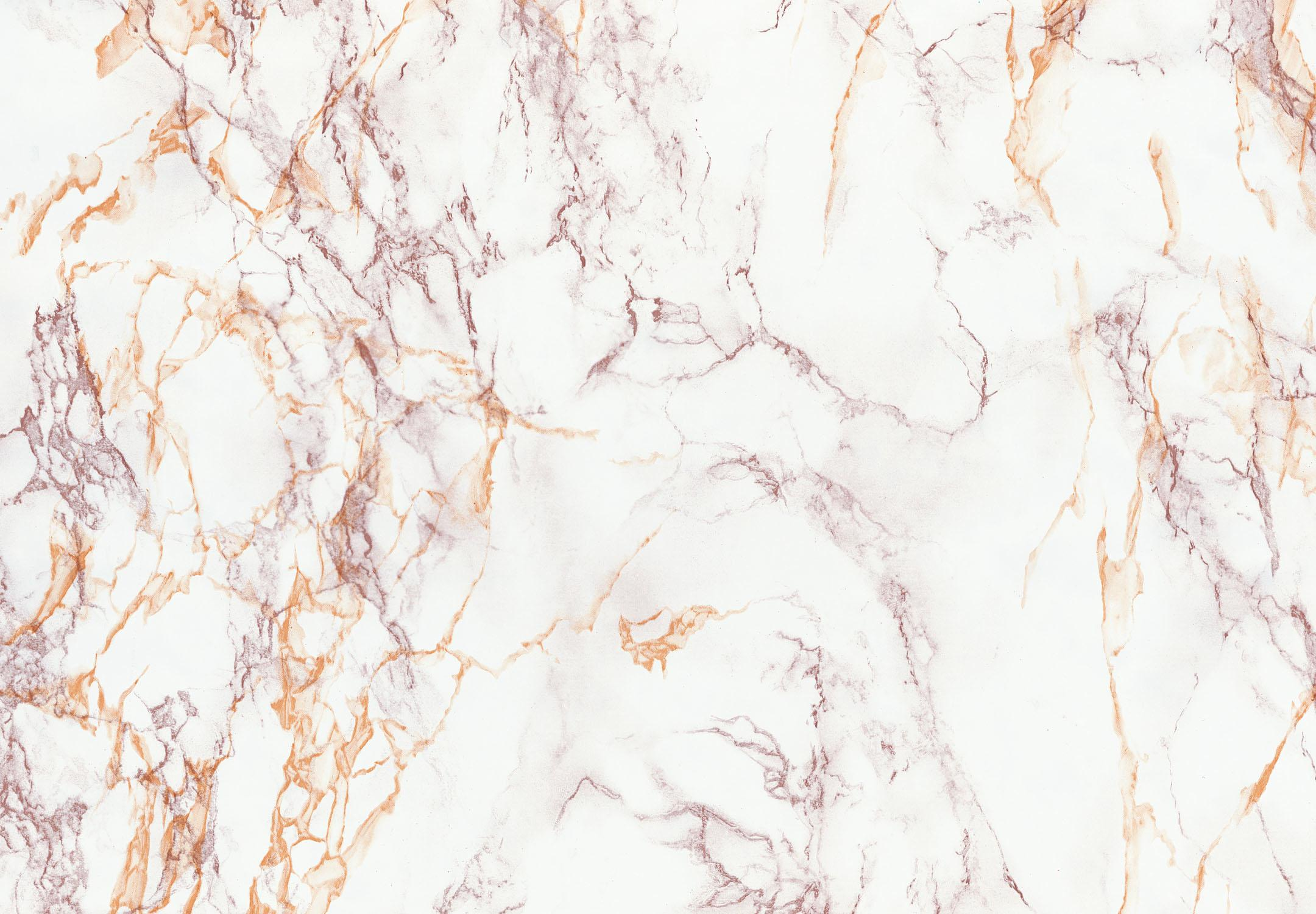 Brewster Wallcovering Brown And Gold Marble Adhesive Film Wallpaper
