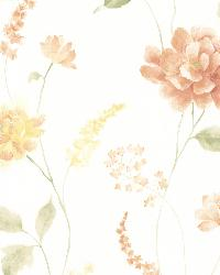 Hanne Yellow Floral Pattern by
