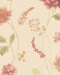 Hanne Beige Floral Pattern by